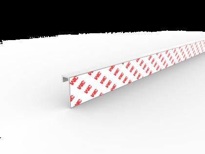 U-profiel 40x14x9x2.0 VOM1  L 3000 (+ tape (123338))