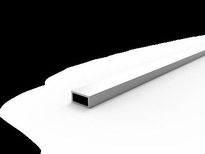 Rechthoekige koker 40x20x3.0 brute