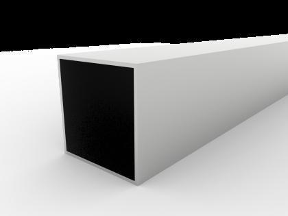 Rechthoekige koker 80x80x4.0 brute