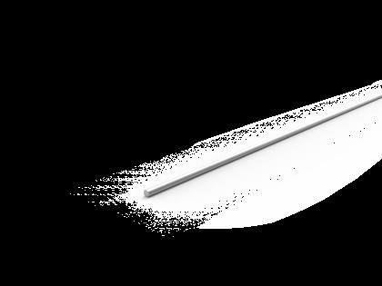 Klemprofiel 1.5 mtr brute