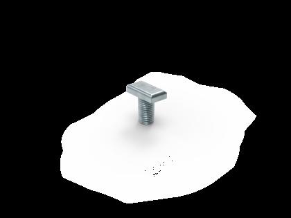 Hamerkop M10x20 +R+M RVS