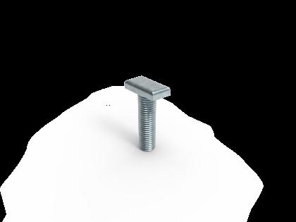 Hamerkop M10x40 Verzinkt staal