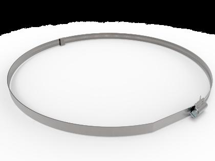 Hi-Torque bandklem 229-384mm RVS