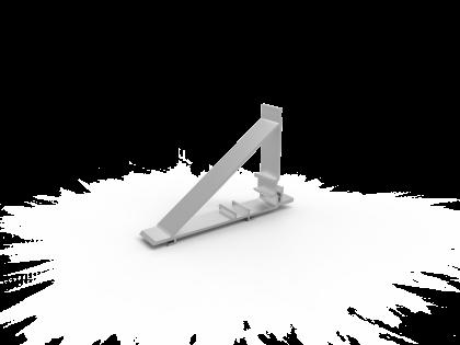 Montagebeugel 25 mm brute