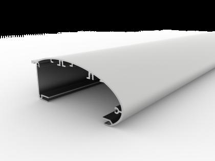Slimline l aluminium led lichtfluter systeme comhan for Ringo schiebetur montageanleitung