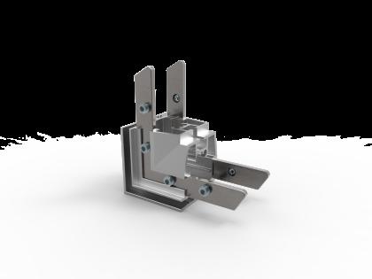 Hoekoplossing T-Flex® 46 45x45 mm vom-1