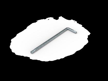 Haakse Torxsleutel T-30 tbv snelkoppeling [131022/23/27]