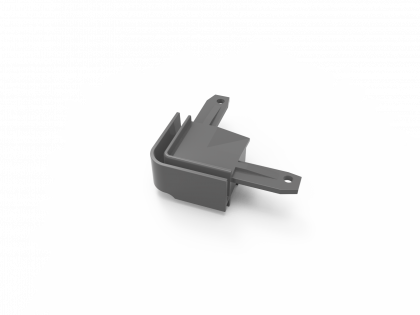 T-Flex® kunstst. hoek grijs (H+2I) i.c.m.137154 (T-46 2 st)