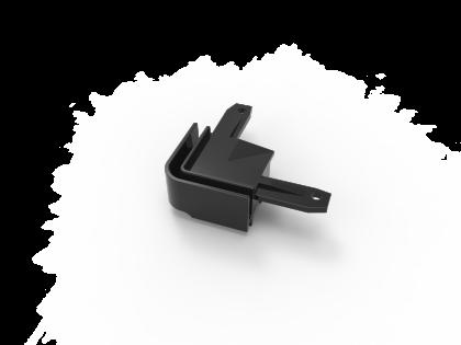 T-Flex® kunstst. hoek zwart (H+2I) i.c.m. 137154 (T-46 2 st)