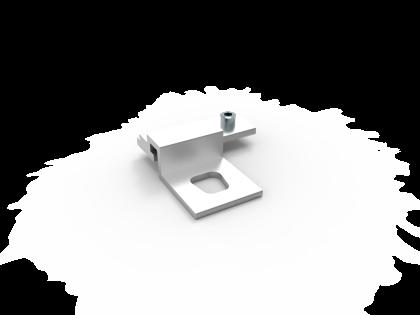 Montageclip T-Flex 17 verschuifbaar staal (+S)