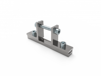 SpeeTex® koppelstuk versteviging (+3 BM M8 x 16 / M8 x 60)