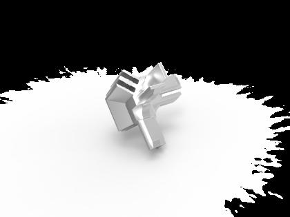 Cube hoekverbinder [131185/87]