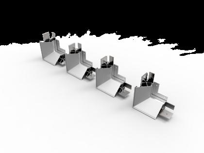 WR-Flex® Gelaste hoekstukken (4H+8S)