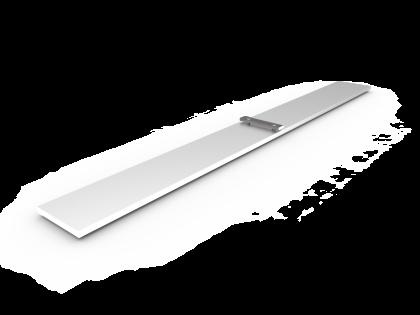 Voet M-Basic Aluminium vom-1 (+2B) L: 600mm