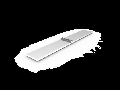 Voet S-Basic Aluminium vom-1 (+2B) L: 400mm