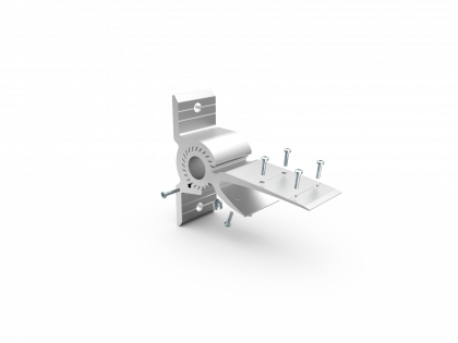 Verstelbare lamelhaak 45mm [133160 L300] vom-1