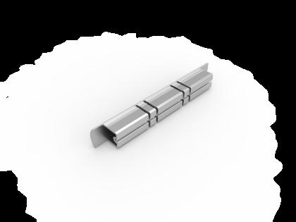 Eindkap 150 mm [133050] brute