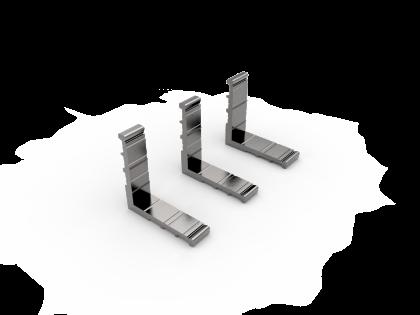 Hoekverbinder set Pyloon 80-ST (2H+H) (130170)
