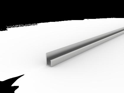 Koppelprofiel U-20x10x8.0 brute