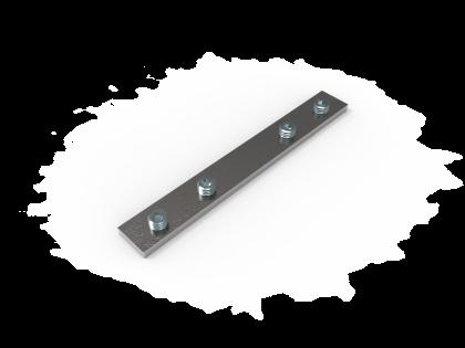 Rechte verbinder 100 mm (H+4i)