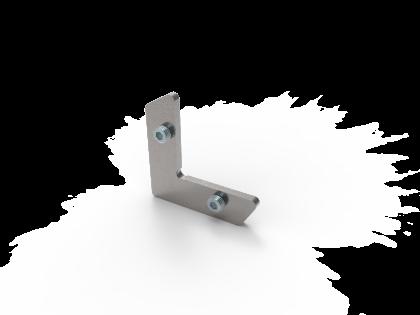 Hoekverbinder M staal (H+2i)