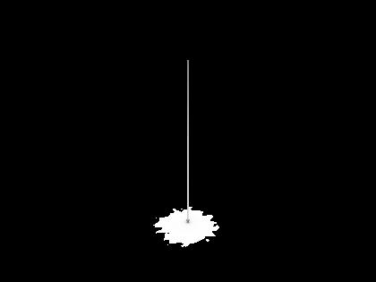 Ophang staalkabel met kogel 4,5 x 1,5 mm L 1500