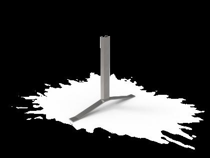 Terras 50 Voet staal (montageplaat+2B+2O)