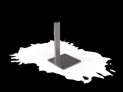 Terras 50 Voet vierkant (montageplaat+2B+2O)