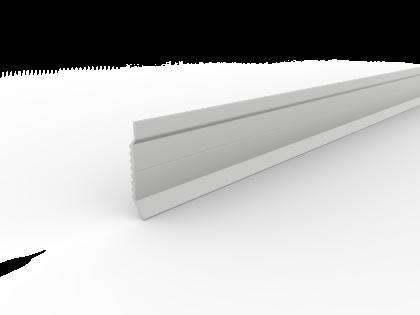 Muuraansluitprofiel 60 mm L 2500 mm met slobgaten