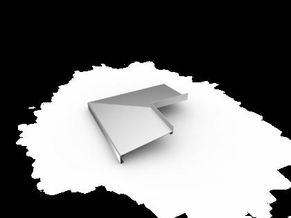 Buitenhoek 30SL 165 mm gelast brute
