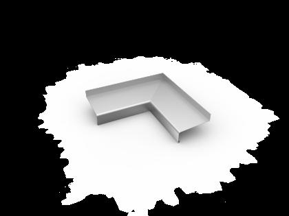 Binnenhoek 40SL 110 mm gelast brute