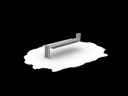Binnenverstekhoek 40SL 110 mm brute