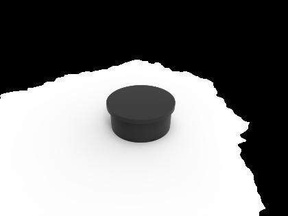 Connecta Kunststofdop zwart