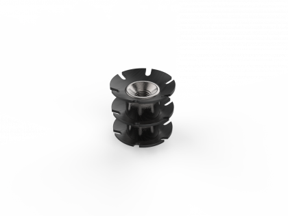 Staal insert M6 [106100] 45x40 L22 mm (3R)