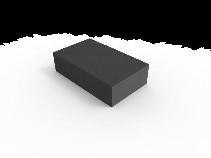 Schuurblokje KR 240 (reinigen geanodiseerd alu]