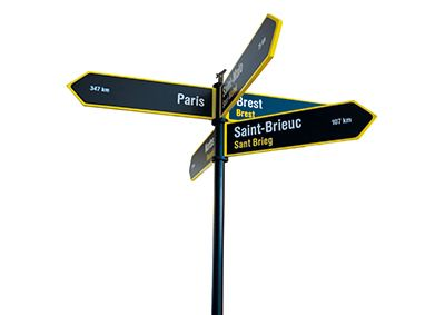 Pervia arrow - Self Signal-verkleind