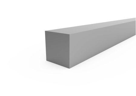 Aluminium vierkantstaf 6060