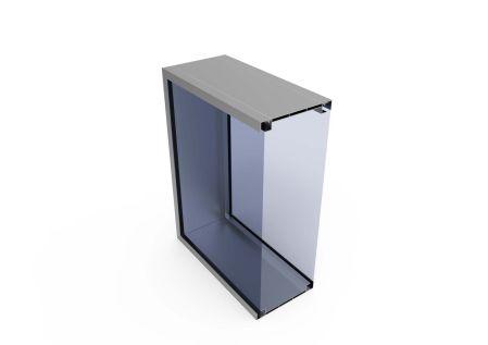 LightBox 140 FF met doorsnede