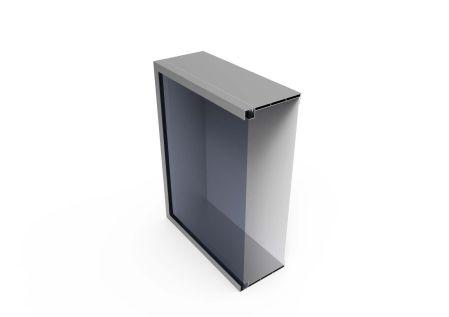 LightBox 180 ST Dubbel met doorsnede
