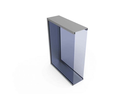LightBox 150 ST met doorsnede